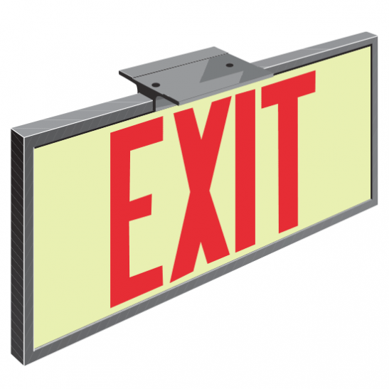 Series 2001 Exit Sign