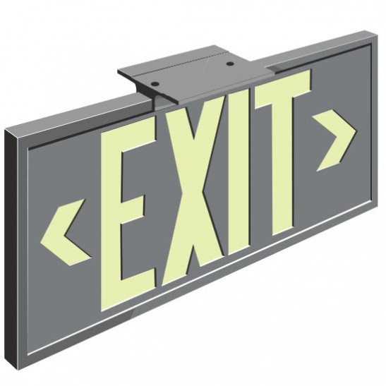 Series 2002 Exit Sign
