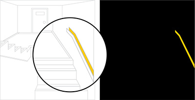 Luminous Egress Path Markings